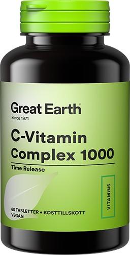 C-Vitamin Complex 1000 60t - Hälsogiganten.